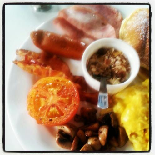 American Breakfast.