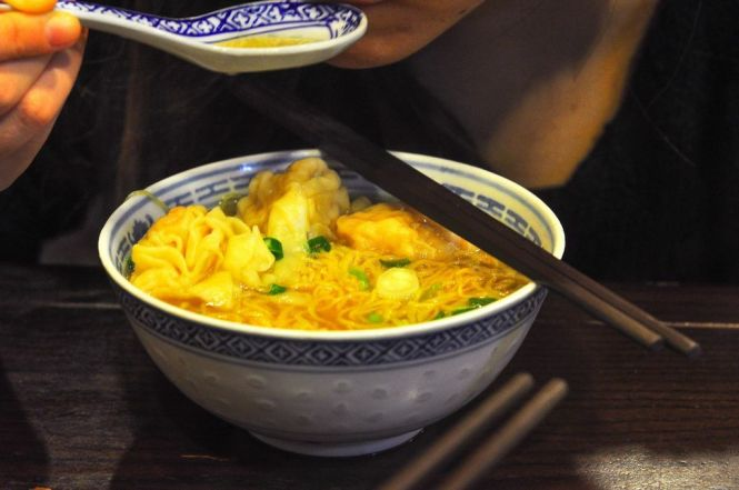 Wonton Noodles in Soup :: HKD22
