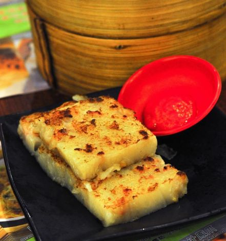Pan-fried Turnip Cake :: HKD12