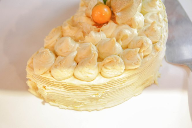 Durian Dessert Counter.