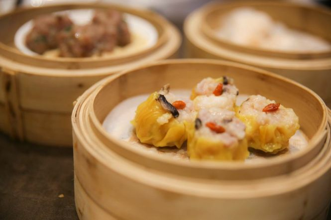 Pork Dumpling with Shrimp (4pcs) :: SGD5++