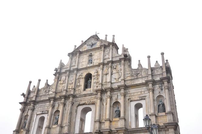 Ruins of St. Pauls Church.