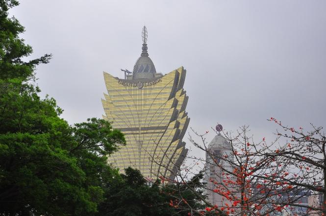 Grand Lisboa Hotel, Macau.