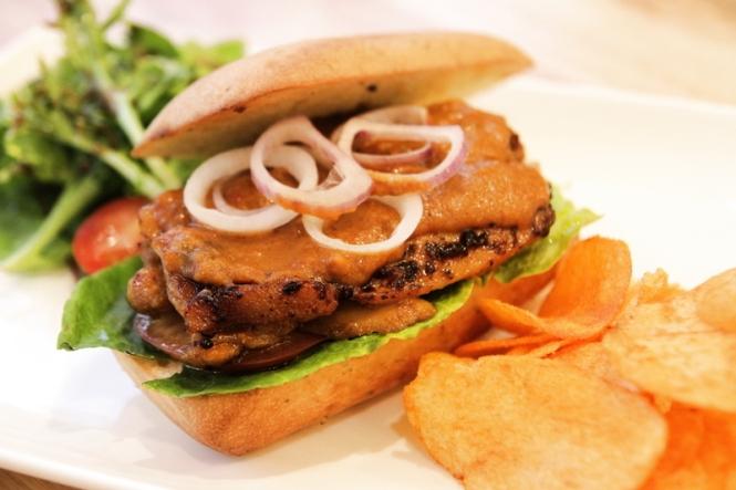 Peanut Chicken Sandwich :: $10.50