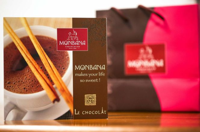 Monbana Chocolate.