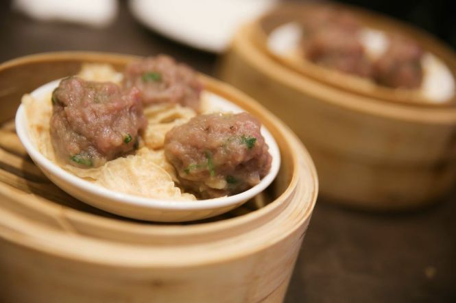 Beef Ball with Beancurd Skin (3pcs) :: SGD4.20++