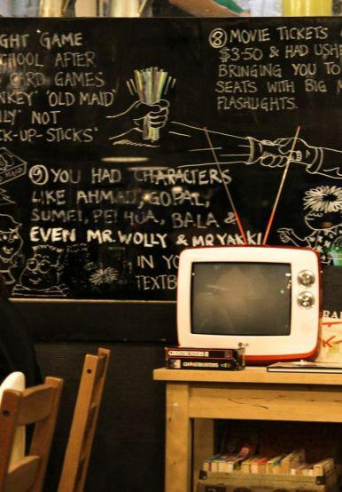 Old School TV Set.