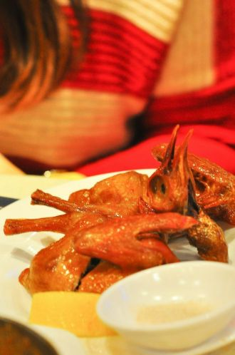 Macanese Roasted Baby Pigeon :: HKD38