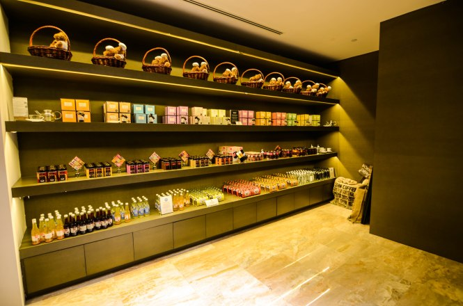Interior of Monbana Chocolate Corner. Photo credit: Monbana Chocolate Singapore.