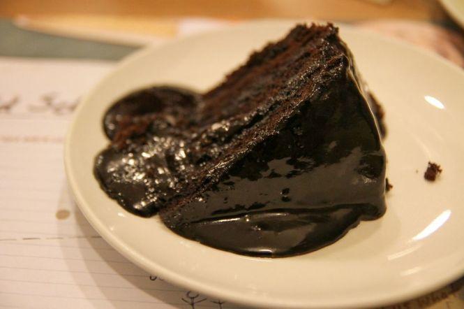 Chewy Chocolate Cake :: $5.50+