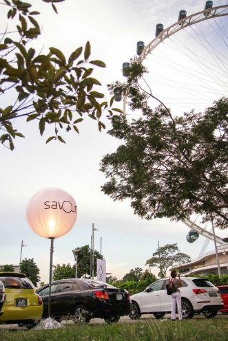 Entrance of SAVOUR 2013.