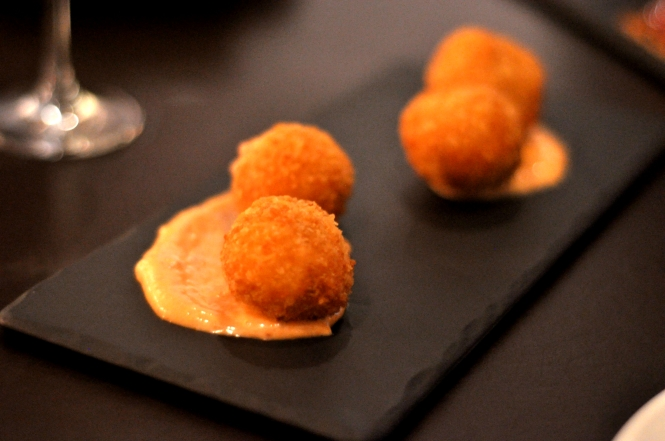 Appetizer - Croquetas.