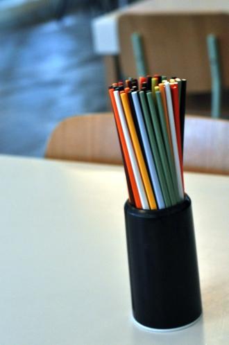 Colorful Chopsticks.