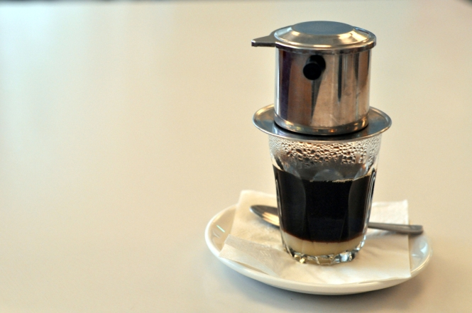 Vietnamese Drip Coffee :: $3.50++