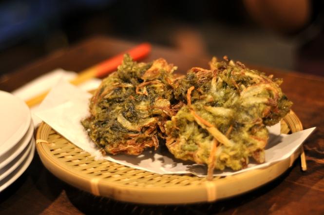 Deep-Fried Aosa Seaweed :: $12++