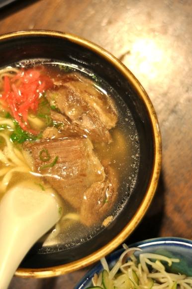 Pork Rib Soup Noodles :: $8.80++