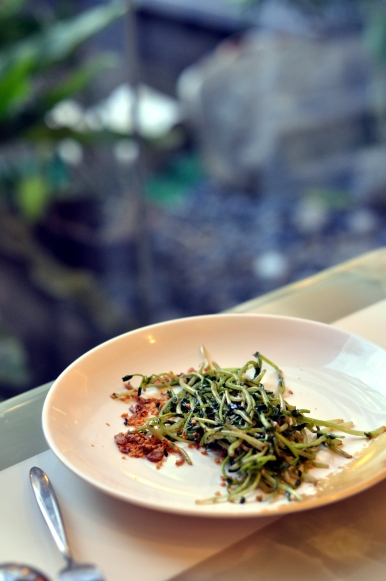 Teppanyaki - Veggies.