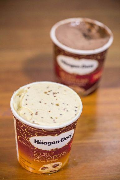 Secret Sensations: Crème Brûlée Ice Cream.