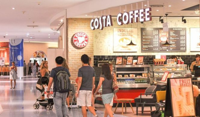 Costa Coffee Singapore.