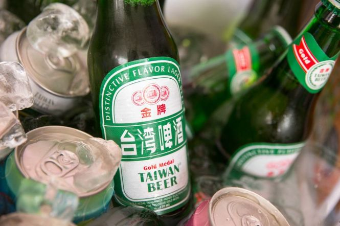 Taiwan Lager Beer.