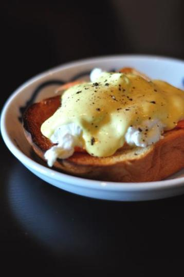 Poached Eggs with Smoked Salmon.