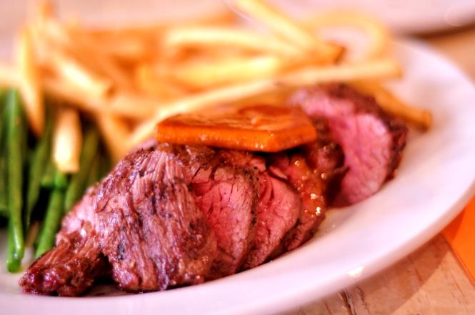 Steak Frites :: $28++