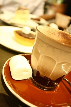 Traditional Hot Chocolate.