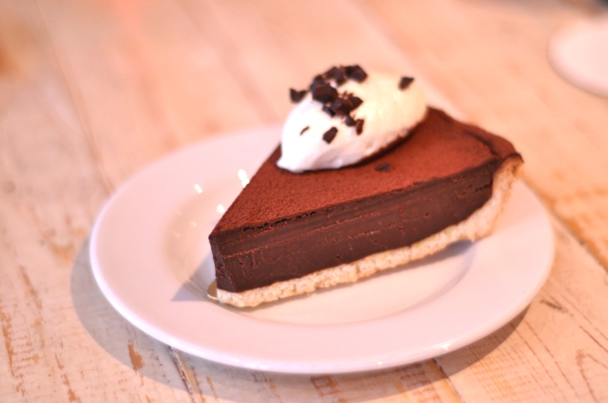 Valrhona Chocolate Tart :: $5++