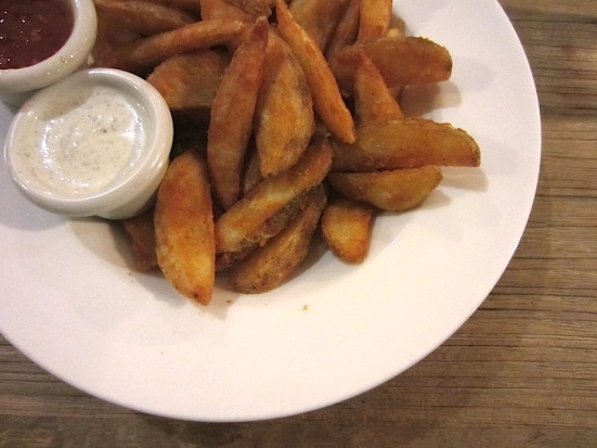 Potato Wedges.