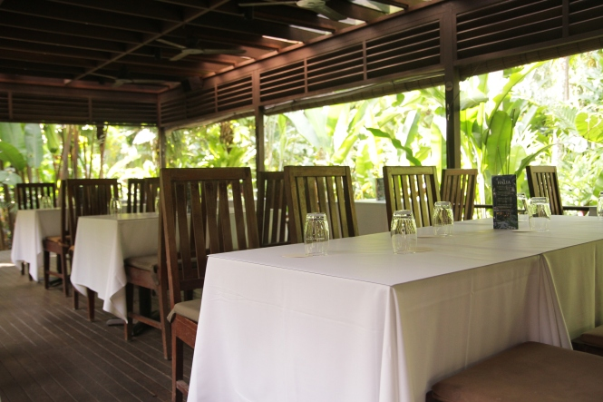 Alfresco Dining Area.
