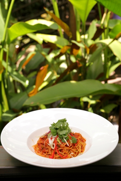 Halia Chilli Crab Spaghettini :: $28++