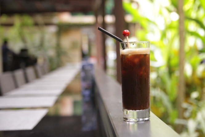 Iced Ginger, Cinnamon and Cardamom Coffee :: $12++