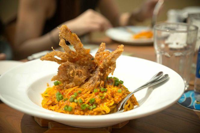 Chili Crab Spaghetti :: $17.95++