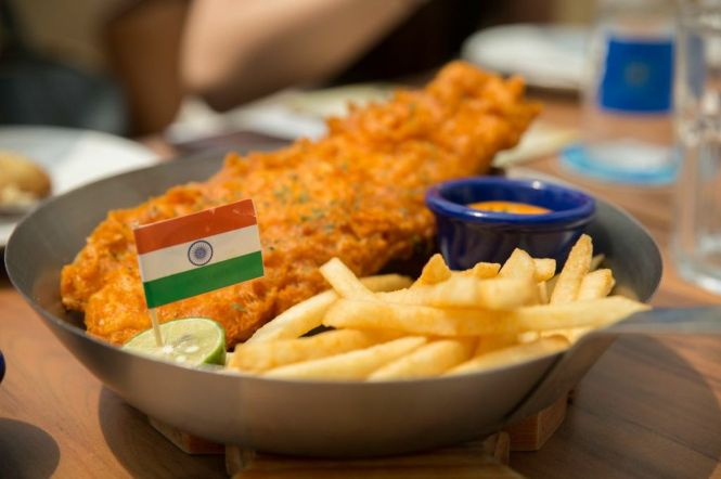 Bombay Fish & Chips :: $16.95++