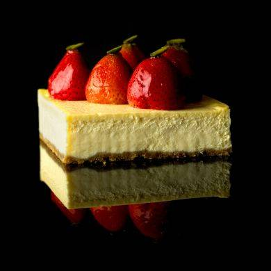 Obolo's New York Cheesecake :: $27.39 - Rich, creamy and smooth, topped with fresh strawberries.