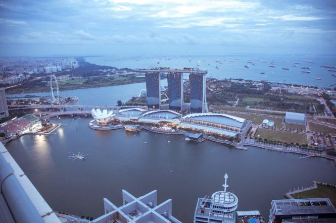 The Marina Bay View.