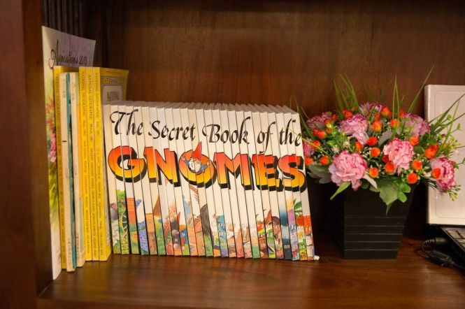 The Secret Books of the Gnomes!