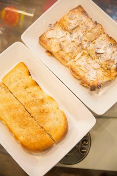 Bostock :: $2.40 Peanut Butter Toast (2 slices) :: $2