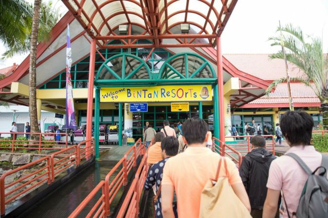Bintan Ferry Terminal.