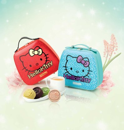 BreadTalk Hello Kitty Mini Mooncakes.