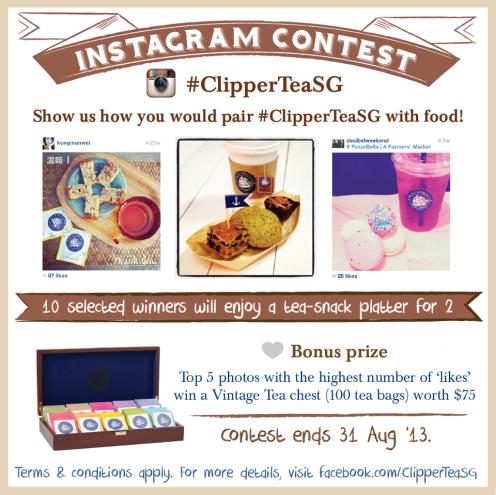 Tea Pairing Instagram Contest.