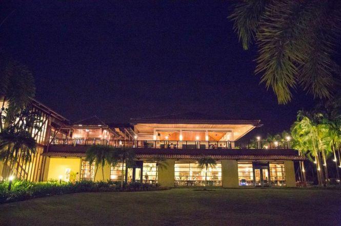 Beautiful Night Lighting of Resort.