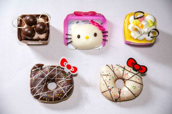 Breadtalk's Hello Kitty Creations.