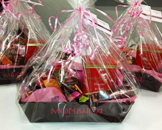 (1) Monbana Chocolate Hamper.