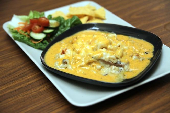 Oven-baked Macaroni & Cheese :: $8.50
