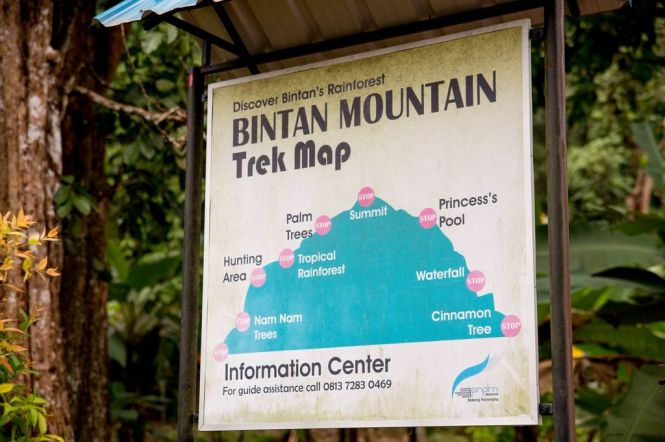 Gunung Bintan Adventure Trek.