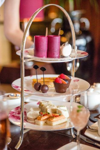 Luxury September Bubby Afternoon Tea.