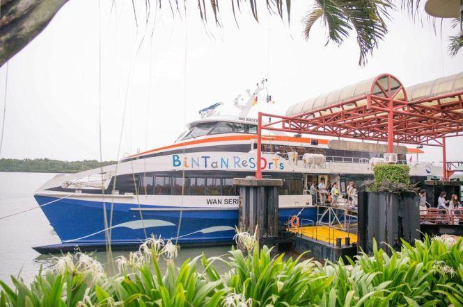 Bintan Resorts Ferry Service.