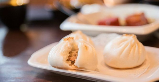 Shanghai Pork Bun (3 pieces) :: $4.50++