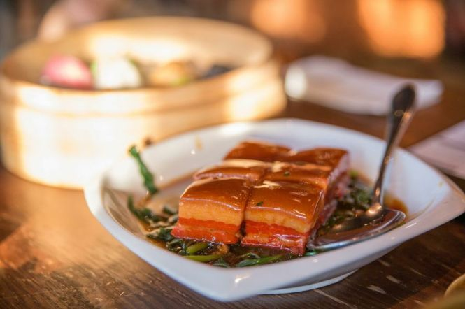 Braised Pork Belly :: $14.80++